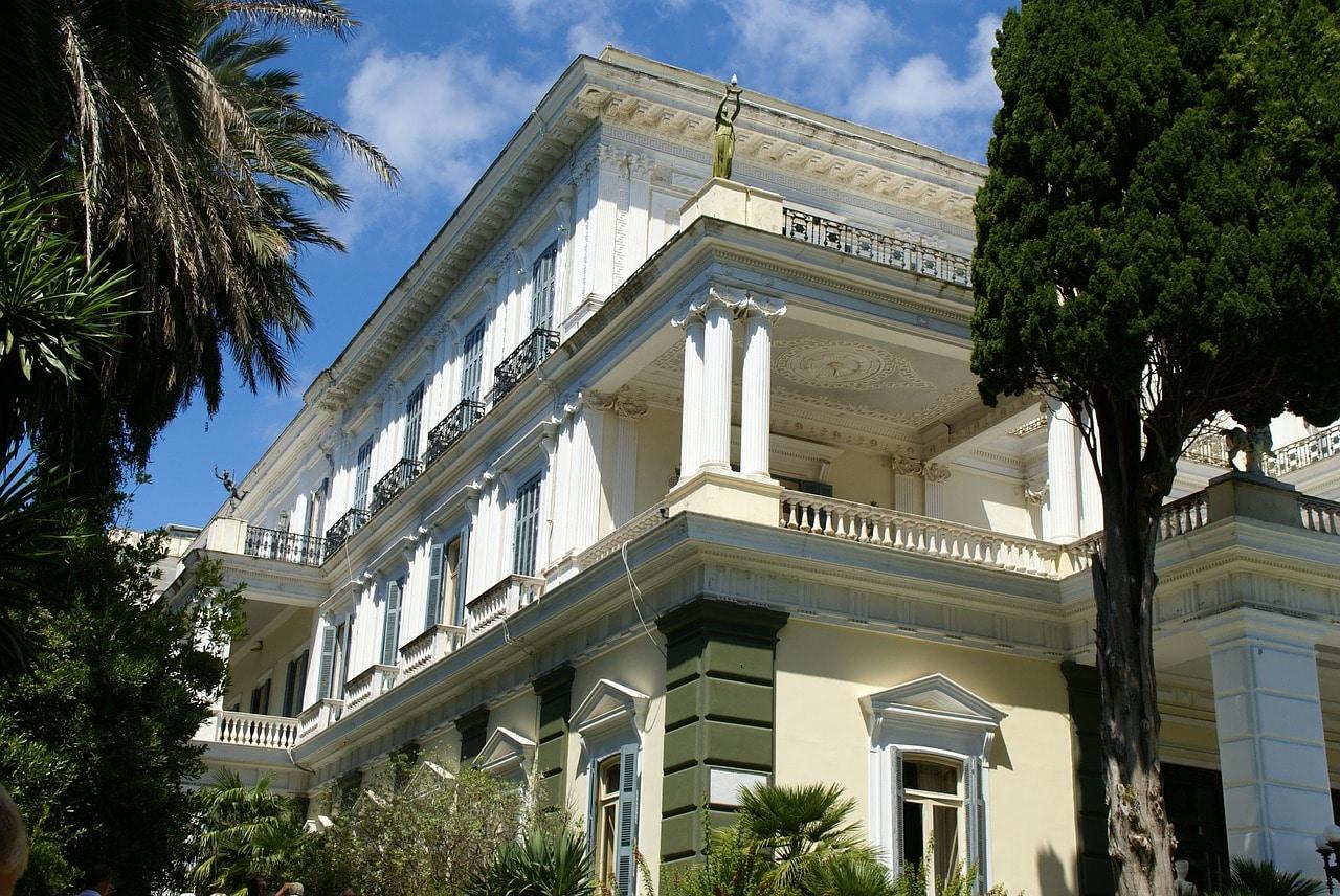 Achilleion-palais-de-l'impératrice-Corfu-Grêce